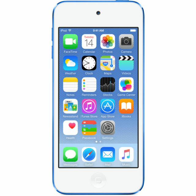 Apple iPod touch 6th Generation Blue (32 GB) - for parts only