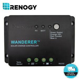 Renogy-Wanderer-Li-30A-PWM-Charge-Controller-12V-Negative-Ground-Solar-Regulator