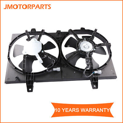 JP Auto Engine Cooling Fan Motor Compatible With Nissan//Infiniti Altima I30 Maxima 1998 1999 2000 2001 2002 2003 Left Driver Side Replacement