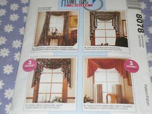 McCall's Home Dec 8090 Curtains Uncut
