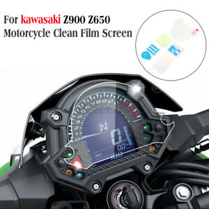 Motorcycle Dashboard Tachometer Film Screen Protector For Kawasaki Z900   * t
