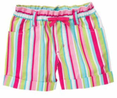 Print NWT *Retail*  3 4 Gymboree Big Girl Spring Summer Shorts-Bike Striped