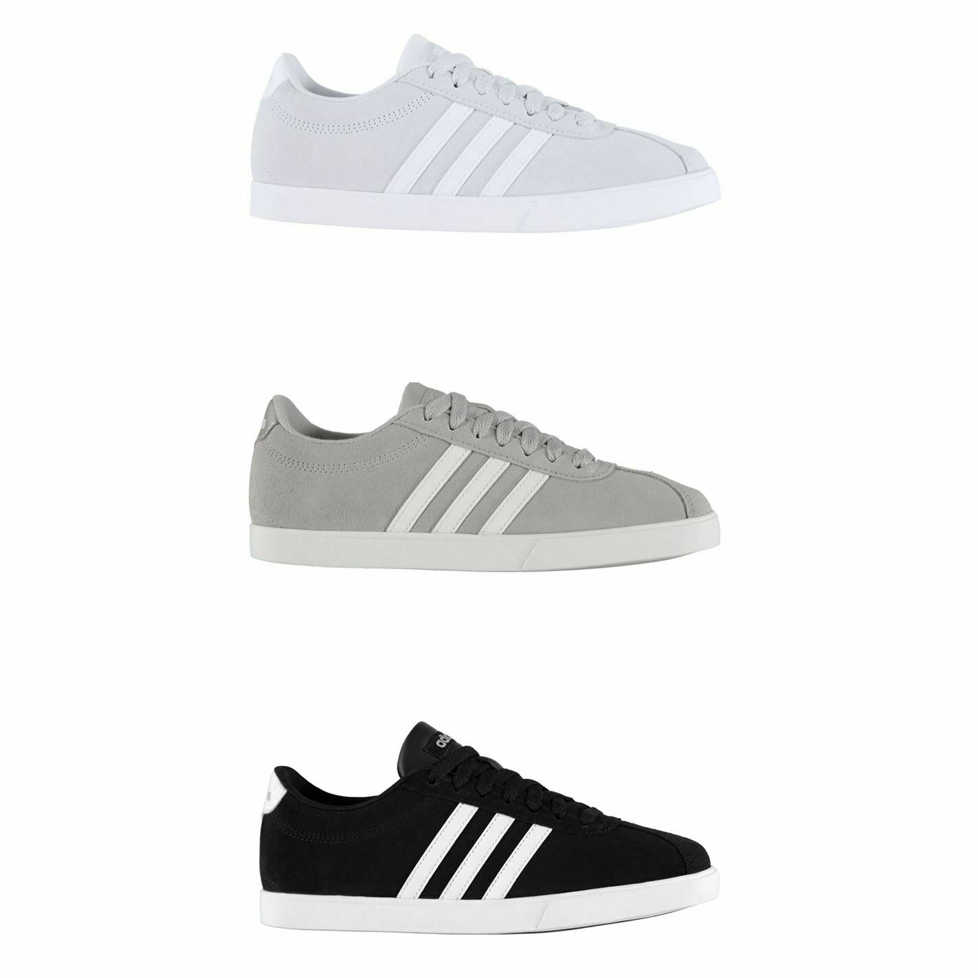 Adidas Court Set Suede Trainers femmes Athleisure baskets chaussures Footwear