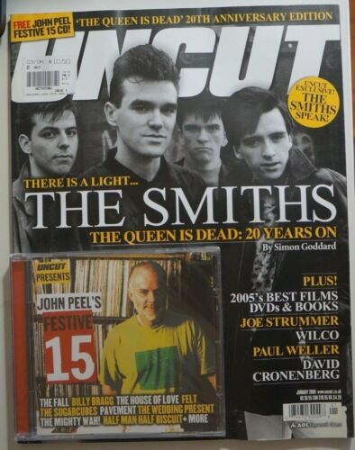 Uncut Magazine + CD Jan. 2006 The Smiths Wilco John Waters Paul Weller 104 edk