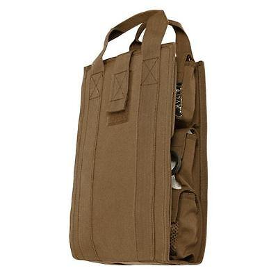 CONDOR Tactical Nylon BackPack Pack Insert Organizer va7-498  COYOTE BROWN