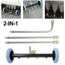 Pressure Power Washer Undercarriage Car Surface Cleaner 16 4000 Psi Water Broom