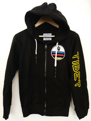 Tri Color Tibet Zipper jacket