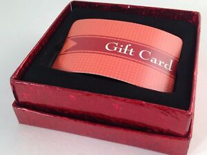 Voila Gift Card Holder Box Christmas Holiday Bloom Us Seller Free