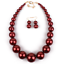 Fashion-Women-Crystal-Bib-Pendant-Choker-Chunky-Statement-Chain-Necklace-Earring thumbnail 153