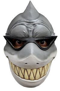 Rigolo latex requin masque d guisement affaires pr t en lunettes halloween neuf ebay - Requin rigolo ...