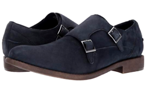 Kenneth Cole Reaction Men's Design Loafers Monk Strap shoes