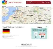 What is my ip address - Online tool website