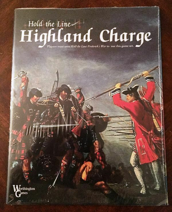 NEW, Highland Charge, a Hold the Line battle module by Worthington Games; sealed