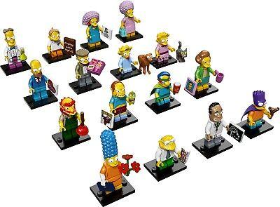 Ragionevole Lego Minifigures The Simpsons Serie 2 Serie Completa Di 16 Figure 71009 Nuovo-mostra Il Titolo Originale