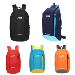 Fashion Small Light Backpacks Cool Canvas Bicycle Travel Back Pack