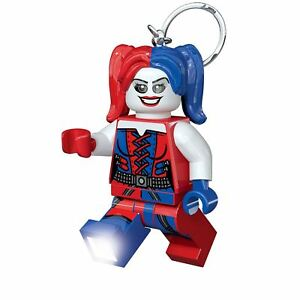 Lego-Lampe-Porte-Cle-Super-Heros-Dc-Harley-Quinn-Enfants-Eclairage-LED-Clair