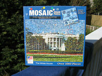 The White House 1000 Piece Mosaic Jigsaw Puzzle By Great American Puzzle Factory