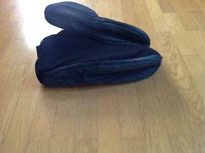 Kampfschuh Fußschutz KWON, Schwarz, Größe L