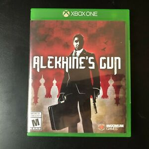 Alekhine-039-s-Gun-Video-Game-Microsoft-Xbox-One-2016-Used-amp-Tested