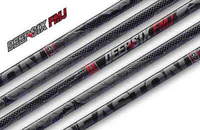 1 Dz Easton Full Metal Jacket Injexion 280 Raw Shafts w// Deep Six steel G Hits