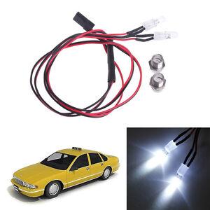 8 LED Light Kit RC Model Drift Headlight Taillight for 1//10 RC Car Truck Crawler