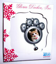 Silver Chinchilla Persian Cat Photo Slate Christmas Gift Ornament AC-122SL