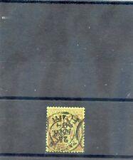 TAHITI Sc 11(YT 13)VF USED, 1893 20c BRICK/GREEN, EXPERT h/s, $135