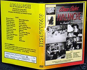Avalanche-Dvd-Bruce-Cabot-Roscoe-karns