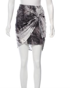 HELMUT LANG tie dye knee length skirt Small