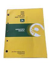 John Deere 4055 4255 4455 4755 Amp 4955 Tractors Op Manual Omrw25631