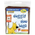 Snappies Doggie Dog Doo Tie Handles Poo Bags X20 Odour Neutralising Fragrance