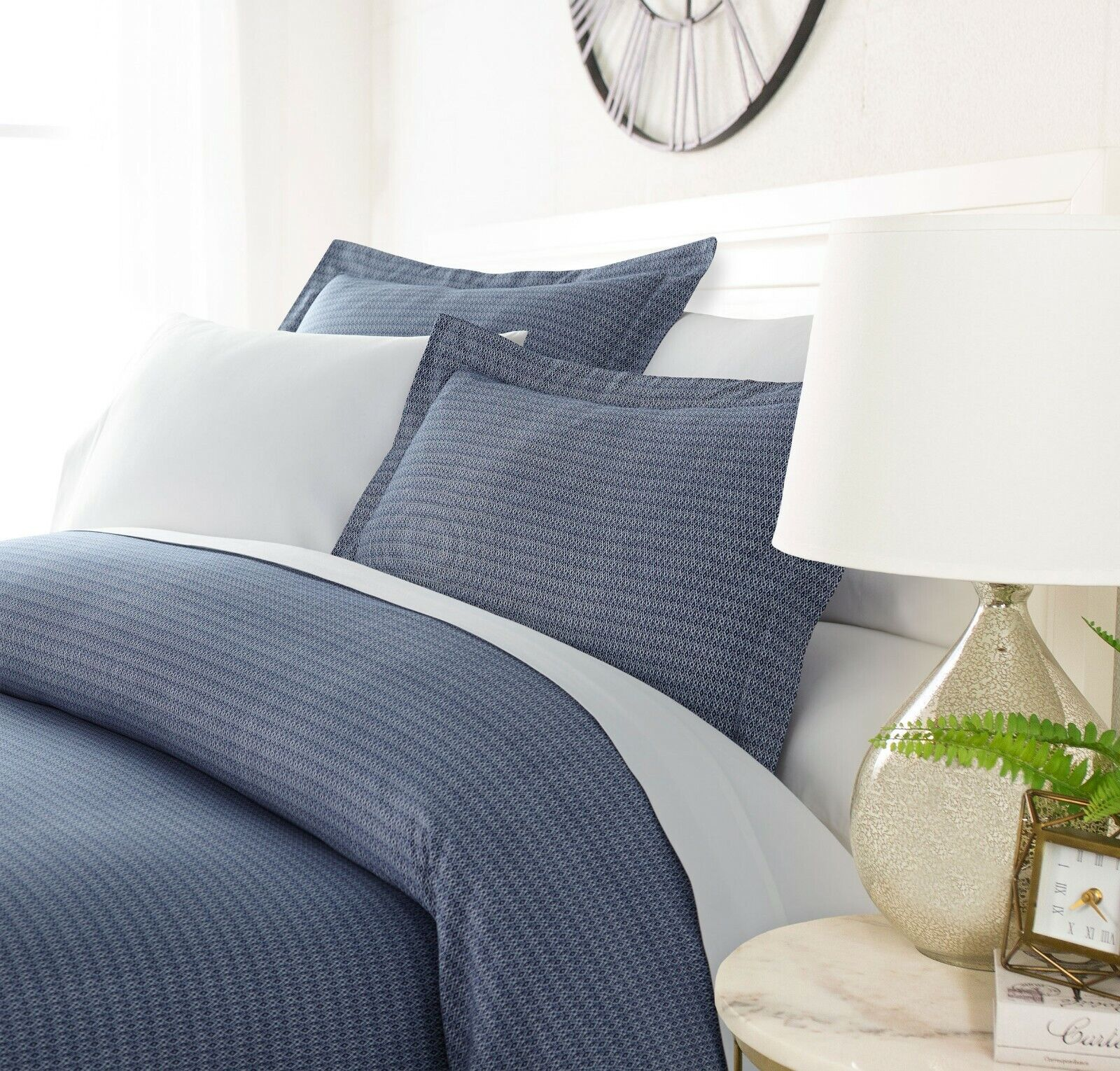 Luxury Ultra Soft Woven Dreams Duvet Cover Set By Sharon Osbourne Home