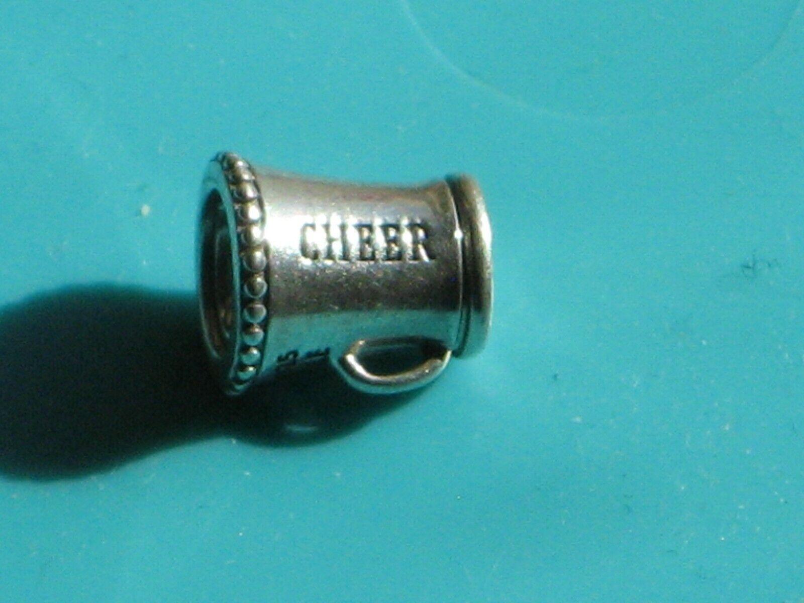 726d02446 Pandora (791125) Sterling Silver Megaphone Cheerleader Charm for sale  online | eBay
