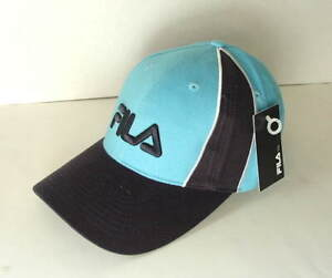 FILA-Blue-and-Navy-Blue-Cotton-Womens-Size-OSFA-Hat-Cap-NEW-NWT