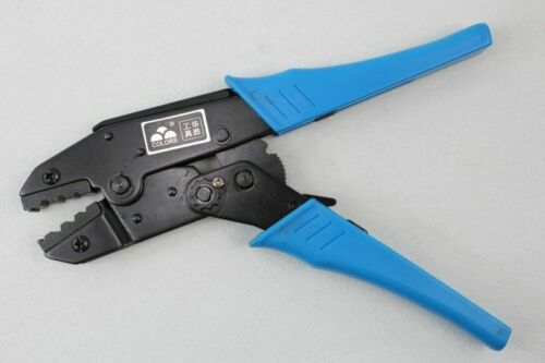 HS-02H2 Professional Hand Tool 8.0,6.4,1.7mm2HEX Ratchet Crimping Tool