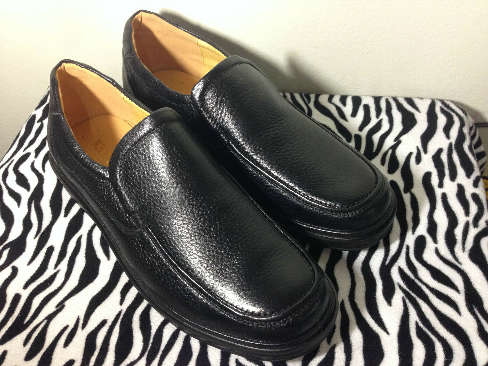 New Formal Dress Leather Working Size Men Black Nice Shoes Size Working 38,39,42,43,44 c18c56