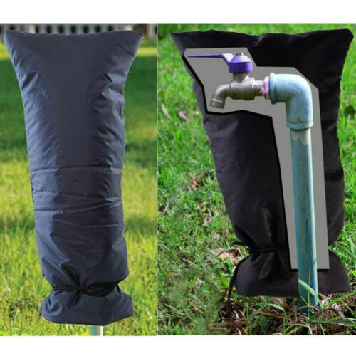2Pcs Outdoor Water Faucet Cover Tap Socks Hose Bib For Winter Freeze Protection