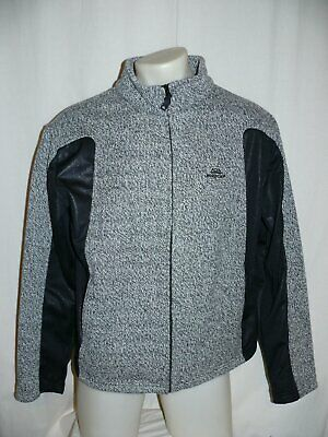 NORDCAP Freizeitjacke Outdoorjacke Jacke Strick & Softshell grauschwarz XL | eBay