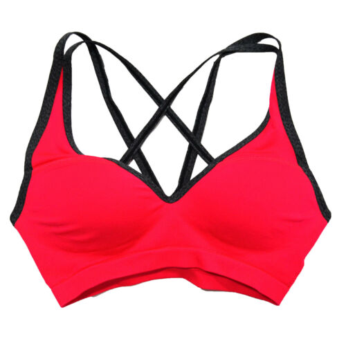 Victoria/'s Secret Pink Sports Bra Padded Push Up Work Out Yoga Gym New Nwt