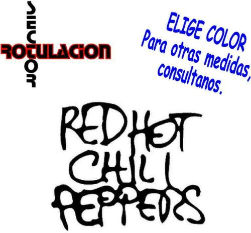 Red Hot Chili Peppers Music ROCK BAND PEGATINA VINILO STICKER DECAL ref1644