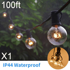 100FT-G40-LED-String-Lights-Filament-Outdoor-Patio-Globe-String-Light-US-Plug