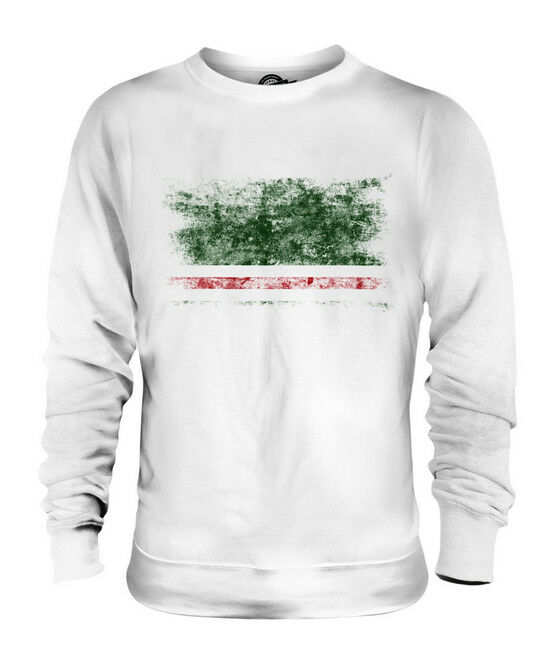 ICHKERIA DISTRESSED FLAG UNISEX SWEATER TOP FOOTBALL GIFT SHIRT CLOTHING JERSEY