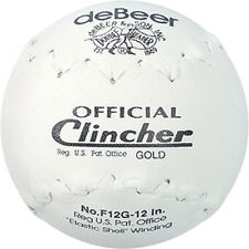 deBeer Clincher Gold Softballs F12G 12 inch  Slowpitch - New in Box/Wrapper