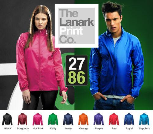 TS010 2786 Lightweight Jacket Showerproof Foldaway Festivals Summer 10 Colours