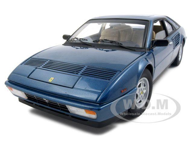 ELITE EDITION FERRARI MONDIAL 3.2 blueE 1 18 1 OF 5000 MODEL CAR HOTWHEELS P9890