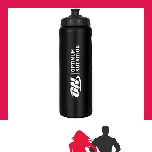 Black Optimum Nutrition 1000 ml. Water Bottle