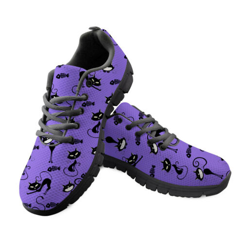 Imprimé Animal Chaussures De Sport Hommes Running Trainer Casual Sports scolaires Sneaker NEUF
