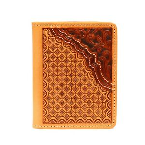 Bi-Fold-Flip-SLIM-WALLET-Basket-Tool-Leather-Money-Clip-Leather-N5470148
