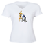 Juniors-Girl-Women-Vneck-Tee-T-Shirt-Gift-Star-Wars-R2D2-C-3PO-Robot-Droid-Rebel thumbnail 7