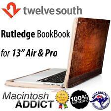 "Twelve South Rutledge BookBook Artisan Leather Case for 13"" MacBook Air/Pro"